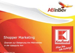 ABInbev - Shopper Marketing Konzept