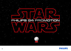 Philips - StarWars Sell-in-Story